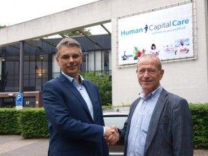 Jeroen Kremer, directeur Oost Nederland en Hans Damveld, voorzitter HMO